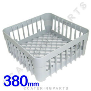 380 X 380 GLASS-WASHER OPEN GLASS CUP RACK SQUARE BASKET 380mm DISH-WASHER IME
