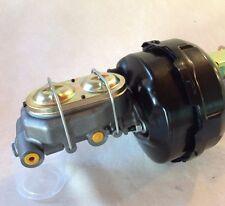 """Jeep CJ7 CJ5 9"""" dual power brake booster & master cylinder w/brackets"""
