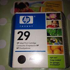 ORIGINAL HP 29 Black Inkjet Print Cartridge Printer Deskjet Deskwriter Officejet