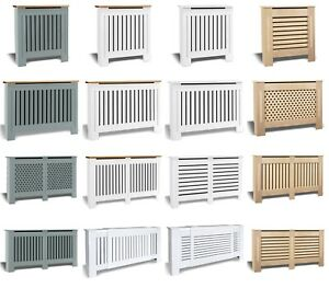 Radiator Cover White Small Large Modern Traditional Wood Grill Cabinet Furniture