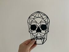Geometric Skull Wall Art Decor Hanging Decoration Origami Gothic Pick a Colour