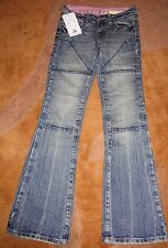 Hornee Jeans Baby Camo SA-W1 Ladies Motorcycle Jeans Size 12 With Hornee Singlet