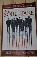Filmposter A1 Neu Poster My Soul to Take - Wes Craven