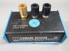 ESI SR1 100kΩ 3.2mA Standard Resistor