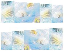 Nail Art Sticker Decals Transfer Stickers Sea Shells Paradise Beach (DB162)