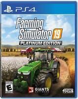 Farming Simulator 19 Platinum Edition (PS4) - PlayStation 4