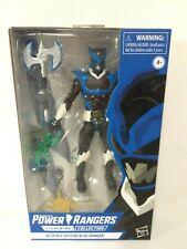 """Gamestop Exclusive Power Rangers Lightning """"In Space"""" Psycho Blue - New Sealed!"""