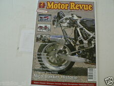 MOTOR REVUE 2011-02,NICO BAKKER,HONDA CB450,CB750 K2,LODOLA 175 GUZZI,GTS 1000 Y