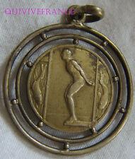 BG6156 - MEDAILLETTE NATATION 1936 UTP BAGNERE DE BIGORRE