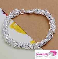 925 argento Sterling longtou Multi Hoop Bracciale Gioielli Donna REGALI