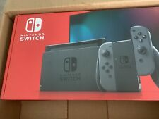 Nintendo Switch V2 Console with Gray JoyCon (NEW)