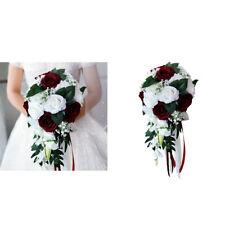 2pcs Realistic Bouquet Bridesmaids Bouquet Hand Tied Flower Party Decoration