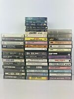 Vintage Mixed Genre Lot 46 Music Cassette Tapes ROCK COUNTRY CLASSIC POP HAIR