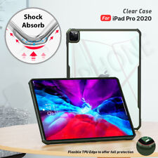 "【Shockproof】For Apple iPad Pro 11"" 12.9"" 2020 Clear Case Heavy Duty Cover"