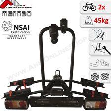 Naos Tilting MENABO Fahrradträger Anhängerkupplung 2 Fahrräder Fahrradheckträger