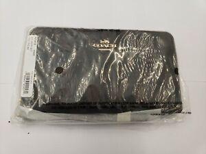 COACH Phone Wallet Wristlet Ladies F73418 IMAA8 Brown Black