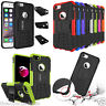 GBOS® Heavy Duty Shockproof Armour Case For iPhone 8 7 6S 6 Plus X/XR + Tempered