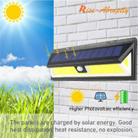 180 COB 1000LM LED Solar Wall Light Outdoor Garden Security Lamp Motion Sensor