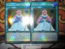 Yu-Gi-Oh! Guide de la Norne Verdande SUPER RARE  SHVA-FR009 le lots de 2