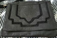 WAYNE Cooper Boho Black Handbag Shoulder Crossbody Satchel Bag