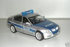 BMW 3er Polizei silber blau 1:32 Modellauto NewRay