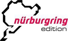 Nurburgring Nurenburg Edition Large Size Sticker Decal Graphic Vinyl Label