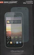 Swiss Charger Lot de 2 Film Protecteur pour écran Smartphone Sony Xperia U