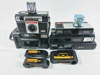 Vintage Kodak, Keystone, Magimatic Film Flash Cameras All untested selling as is