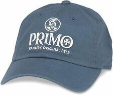 AMERICAN NEEDLE Primo Beer Ballpark Adjustable Strapback Hat Sea Blue