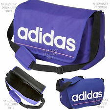 ADIDAS PURPLE SATCHEL BAG LAPTOP SCHOOL DISPATCH STUDENT MESSENGER GIRLS WOMENS