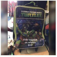 teenage mutant ninja turtles luggage on wheels