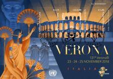 UNO - 2018 EVENT BLOCK - 131. VERONAFIL VERONA - GENF NEW YORK WIEN gestempelt