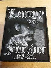 Motörhead Lemmy Kilmister Aufnäher Patch **neuwertig!**