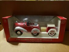 SNAP-ON 1940 GENDRON PEDAL CAR HOT ROD BANK 1:6 SCALE DIE CAST REPLICA