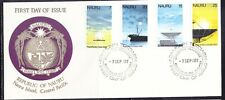 Nauru 1977 Trans Pacific Cable First Day Cover