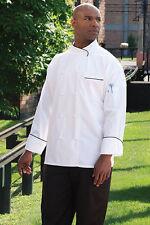 Luxembourg Executive 100% Egyptian cotton Chef Jacket, Xs-3Xl, 0455Ec Free Ship