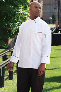 Luxembourg Executive 100% Egyptian cotton Chef Jacket, XS-3XL, 0455EC