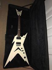 Dean Razorback Dimebag - Metallic White - Electric Guitar - including Soft Case