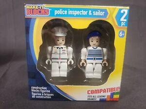2pk Lego Themed Figures SAILOR!