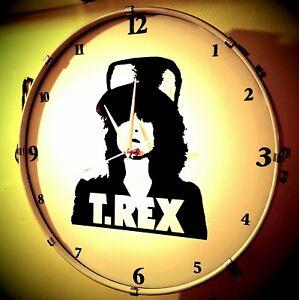 Marc Bolan - T.Rex The slider Drum Clock #