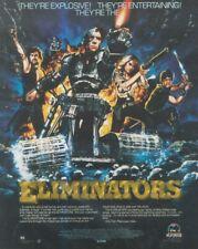 "(SFBK70) POSTER/ADVERT 13X11"" THE ELIMINATORS"