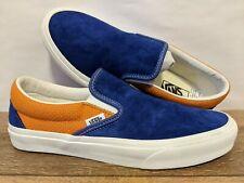Vans New Classic Slip-On P&C Royal Blue/Apricot Buff Men Size USA 9 EUR 42