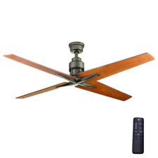 "Elegant 56"" Large Ceiling Fan + Remote Unique Airplane Propeller Cabin Bronze"