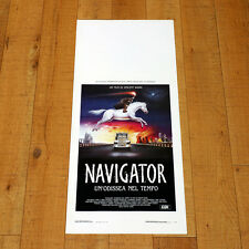 NAVIGATOR UN'ODISSEA NEL TEMPO locandina poster Vincent Ward Odyssey AM73