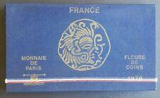 FRANCE - FRANCIA - FRENCH COINS - COFFRET MONNAIE DE PARIS FDC 1978.