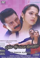 EN SWASA KATRE (ARAVIND SWAMY, ISHA KOPPIKAR) ~ TAMIL INDIAN MOVIE DVD