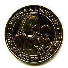 06 SAINT-PAUL-DE-VENCE Vierge à l'enfant, 2014, Monnaie de Paris