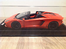 1/18 MR Lamborghini Aventador LP700-4 Roadster Argos Orange