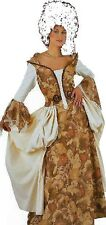 Deluxe Renaissance Lady Medieval Fancy Dress Costume Outfit Size 12-14 P5664