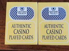 2 Decks Caesar's Palace Casino Las Vegas Playing Cards.
